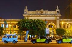 Misr火车站,亚历山大,埃及 库存照片