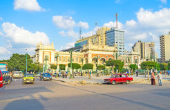 The Misr Railway Station Royalty Free Stock Photos