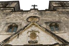 Missão Concepción em San Antonio. fotografia de stock