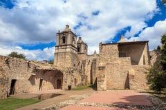 Missão Concepción, San Antonio, Texas imagem de stock