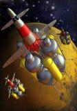 Missão da aterragem de Marte Fotos de Stock Royalty Free
