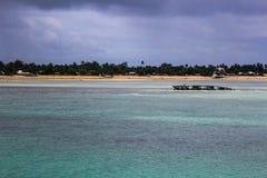 Missão da ilha de Kiribati no verão de 2016 Imagem de Stock Royalty Free