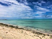 Missão da ilha de Kiribati no verão de 2016 Fotos de Stock Royalty Free