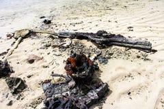 Missão da ilha de Kiribati no verão de 2016 Imagens de Stock