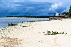 Missão da ilha de Kiribati no verão de 2016 Imagens de Stock Royalty Free