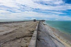 Missão da ilha de Kiribati no verão de 2016 Fotos de Stock