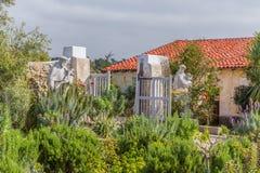 Missão de Carmel em Carmel, Califórnia, EUA. imagem de stock royalty free
