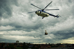 Missão de resgate Imagem de Stock Royalty Free