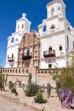 Missão de San Xavier Foto de Stock Royalty Free