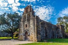 Missão espanhola de Espada, TX foto de stock royalty free