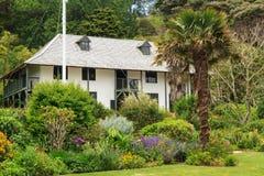 A missão histórica de Pompallier, Russell, Nova Zelândia foto de stock