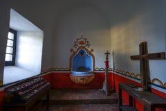 Missão Nuestra Senora del Espiritu Santo de Zuniga em Goliad Texas fotografia de stock royalty free