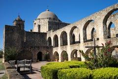 Missão San Jose em San Antonio Texas fotografia de stock