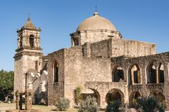 Missão San Jose, Texas imagens de stock