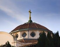 Missão transversal dourada Dolores San Francisco Imagem de Stock