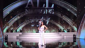 Miss All Nations Thailand 2017, Preliminary round to rehearsal stock video