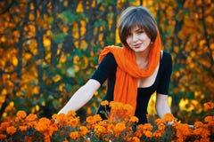Miss autumn stock photo