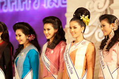 Miss Chiangmai 2012 Royalty Free Stock Photo