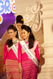 Miss Chiangmai 2012 Royalty Free Stock Images