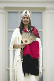 Miss Chickahomny American Indian Royalty Free Stock Photography