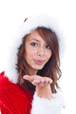 Miss Claus Royalty Free Stock Photo