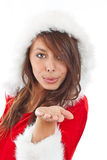 Miss Claus Royalty Free Stock Photos