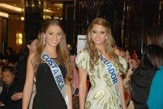 Miss Costa Rica, ecuador arkivbild