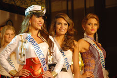 Miss dominican,bolivia , ecuador Royalty Free Stock Images