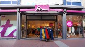 Miss Etam shop in the Netherlands. Zoetermeer, the Netherlands. September 2018. Miss Etam shop in a shopping mall in the Netherlands Stock Photo