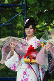 Miss Fuji woman on the main stage Stock Photography