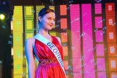 Miss georgia Royaltyfri Foto