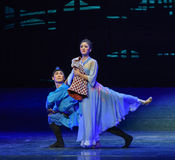 "Miss her late husband-Dance drama ""The Dream of Maritime Silk Road"" Stock Photography"