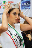 Miss Italia 2010 Stock Images