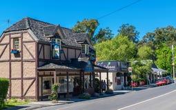 Miss Marple tea room in Sassafras, Victoria, Australia Royalty Free Stock Photos