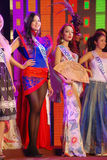 Miss Mongoliet, Indonesien, estonia Royaltyfri Bild