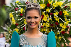 Miss Philippines, Binibining Pilipinas joins Santacruzan in Manila Stock Photography