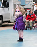 Miss Piggy In NY Royalty Free Stock Images