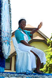 Miss Robbinsdale at Parade. West St. Paul, Minnesota – May 21, 2016: City of Robbinsdale and Whiz Bang Festival Ambassador Lois Cassell waves to crowd during Stock Images