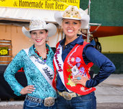 Miss Rodeo Winners Stock Image