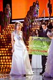 Miss Russia 2010 beauty contest Stock Photo