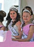 Miss sandwich carnival queen Stock Photo