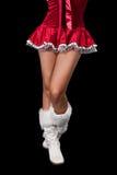 Miss Santa Stock Image