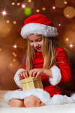 Miss santa Royalty Free Stock Photos