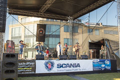 Miss Scania. Country music concert. Stock Photos