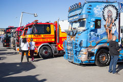 Miss Scania. Stock Images