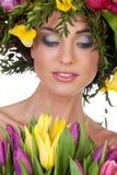 Miss spring Stock Photo