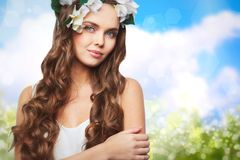 Miss Spring Royalty Free Stock Image