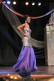 Miss St. Croix Christmas Festival evening gown competition royalty free stock images