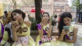 Miss Tourism Viet Nam Stock Image