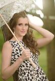 Miss umbrella Stock Photos